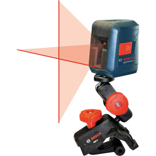 Bosch 30 Ft. Self-Leveling Cross-Line Laser Level
