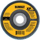 DeWalt 4-1/2 In. 36-Grit Type 29 High Performance Zirconia Angle Grinder Flap Disc Image 1