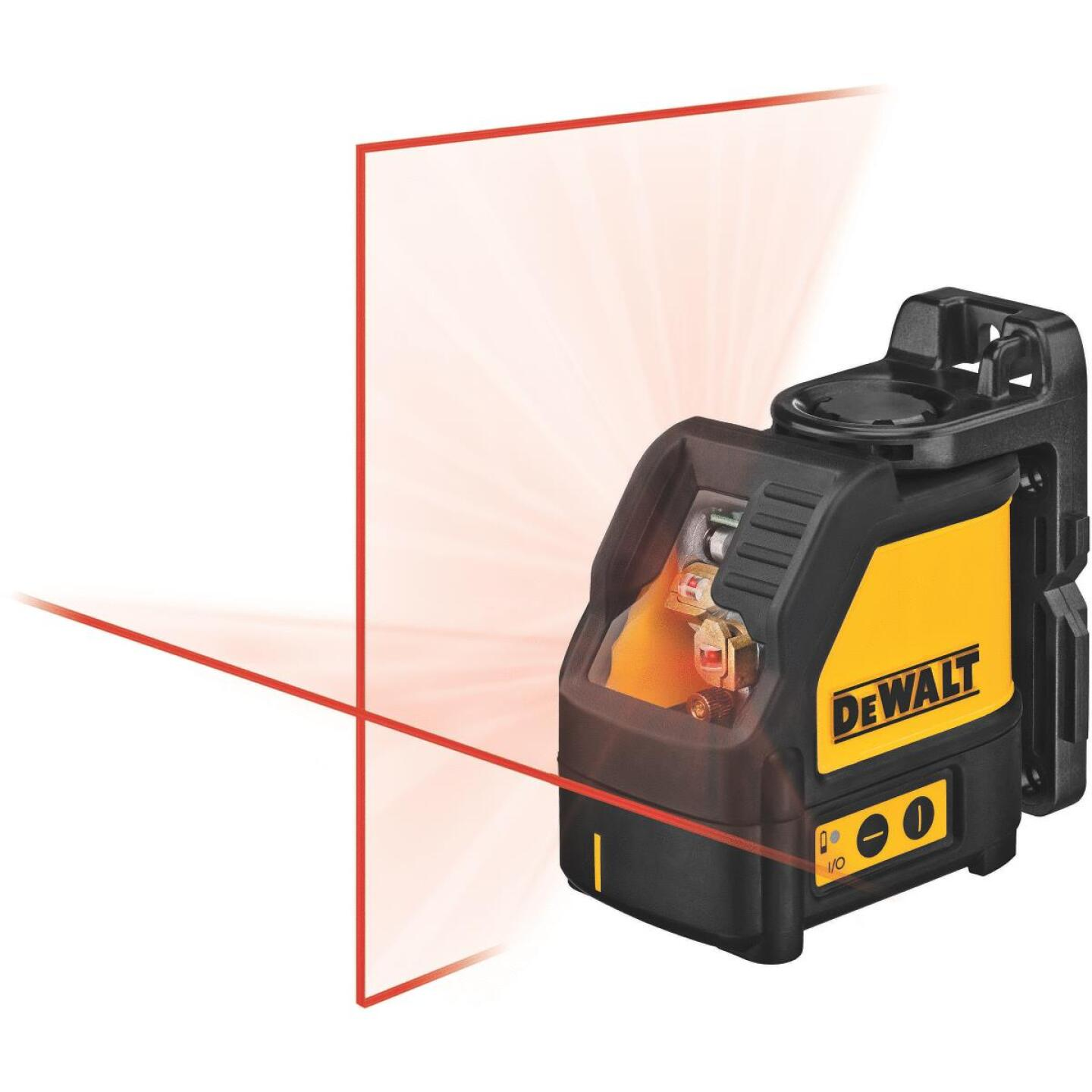 DeWalt 100 Ft. Self-Leveling Cross-Line Laser Level Image 2