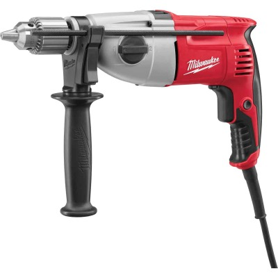 Milwaukee 1/2 In. Keyed 7.5-Amp Dual Torque Electric Hammer Drill