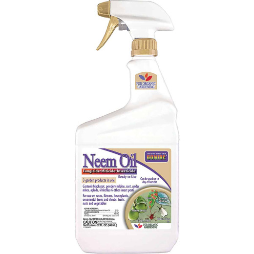 Bonide 1 Qt. Ready To Use Trigger Spray Neem Oil Insect & Disease Killer