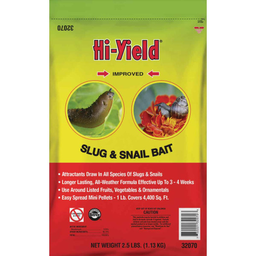 Hi-Yield 2-1/2 Lb. Ready To Use Pellets Slug & Snail Killer