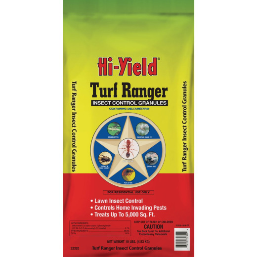 Hi-Yield Turf Ranger 10 Lb. Ready To Use Granules Insect Killer