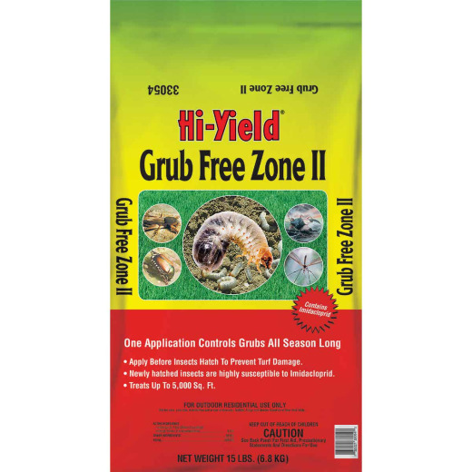 Hi-Yield Grub Free Zone II 15 Lb. Ready To Use Granules Grub Killer
