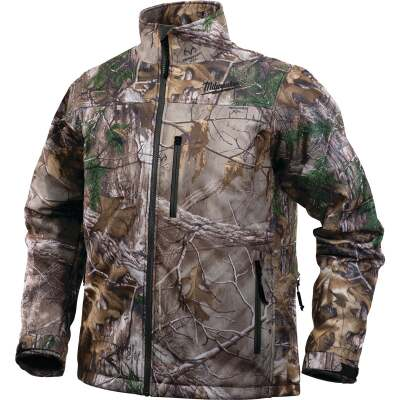 Milwaukee M12 XL Realtree Camo Cordless Heated Jacket Kit