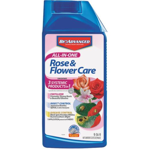 BioAdvanced All-In-1 32 Oz. Concentrate Rose Insect Killer & Disease Control
