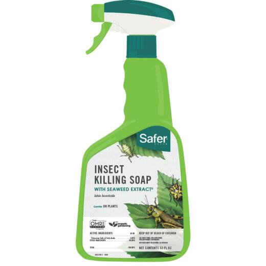 Safer 32 Oz. Ready To Use Trigger Spray Insecticidal Soap Insect Killer