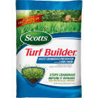 Scotts Turf Builder 13.35 Lb. 5000 Sq. Ft. 30-0-4 Lawn Fertilizer with Halts Crabgrass Preventer Image 1