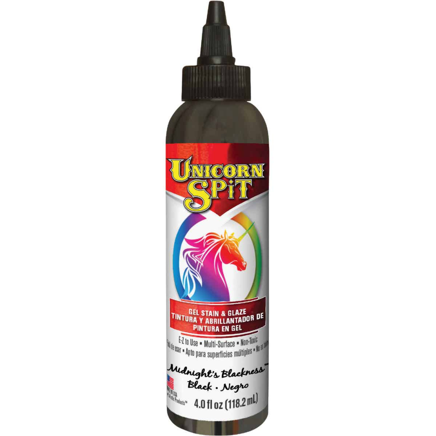 Unicorn Spit 4 Oz. Midnights Blackness Paint, Gel Stain & Glaze Image 1