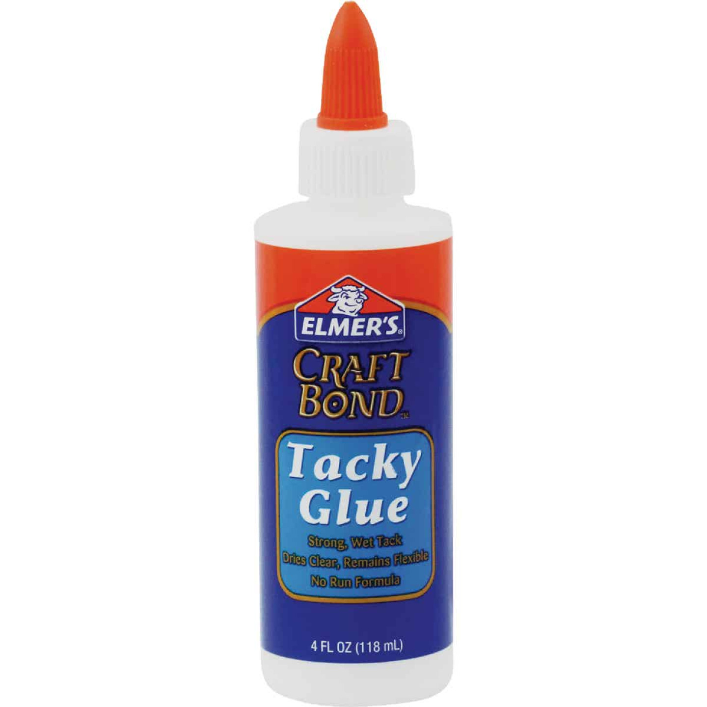 Elmer's Craft Bond 4 Oz. Clear Drying Tacky Glue Image 1
